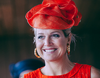 Opening Orion building by Queen Máxima