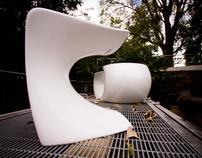 Aura Coffee Table + Stool