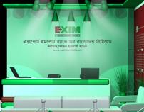 Booth Design EXIM Bank