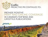 Praxis PR - Gallo / Quaker