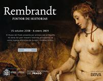 Rembrandt exhibit microsite