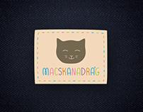 Visual ID for Macskanadrág blog