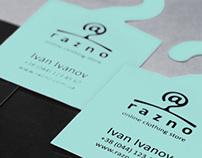 On-line clothing store Razno