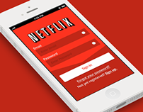 Netflix iOS7 App