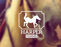 Harper Farms Web Design/ Branding