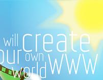 Sierra Group. Logo, site, flyer, visiting card
