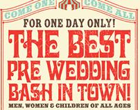 Carnival Wedding Shower Invite