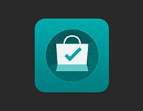 Ecommerce/Shopping App Icon