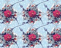 Wallpaper pattern design 17 Edouard Artus ©2013