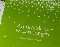 Anna & Lars - wedding branding - DOTS