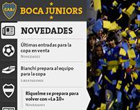 Boca Juniors - Website