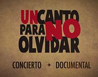 DVD authoring:  Un Canto Para No Olvidar