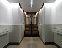 Rehabilitación de fachadas y portal. C/ Monte Esquinza.