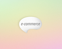e-commerce icon design.