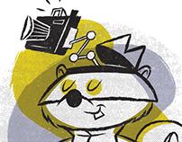 Secret Squirrel: Planet Pulp Hanna-Barbera Show