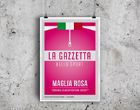 Giro d'italia Jersey Prints