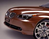 BMW series 5 / Maya Polygonal model