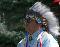 Native Eye of Lisa Lone Fight