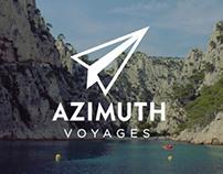 Azimuth Voyages / Branding + Website