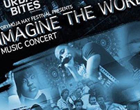 Imagine the World Event Poster