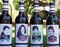 Yazgan Yeşilçam Anısına(Wine Label Design)
