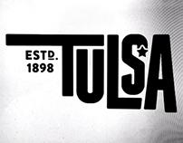 Tulsa Typographic Treatment