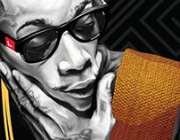 Wiz Khalifa Painting