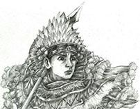 """Baris """"the Balinese hero"""""""