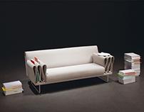 Tri-folds sofa
