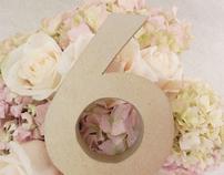 E + E Wedding Decorations