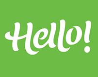 Lettering | Hello