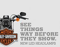 Led Headlamps by Harley Davidson