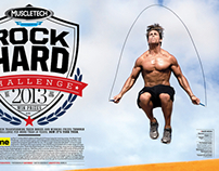 Rock Hard Challenge for Muscle & Fitness Magazine