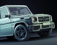 Mercedes G-class 2013