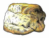 James Beard's Cream Biscuit Recipe Card
