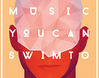Music You Can Swim To: EP Art Work and Brand Assets