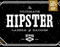 The Ultimate Hipster Labels & Badges No. 1