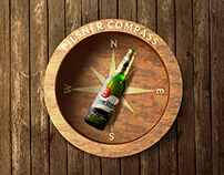 Pilsner Compass iPhone app - redesign