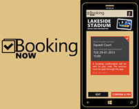 Booking Now - online booking app for Windows Phone
