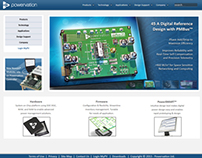 Website Re-Design for Semiconductor Manufacturer