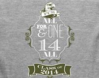 Class of 2014 spirit t-shirt