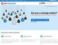New Challenge Website