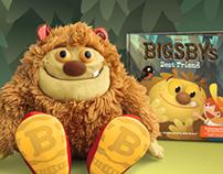 Bigsby Storybuddy App - Home Screen