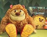 Bigsby Story Book App - Menu