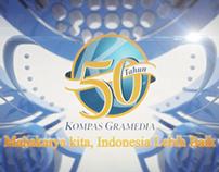 50th KOMPAS GRAMEDIA