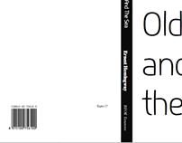 Type-designed book cover