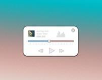 Music Player Slider