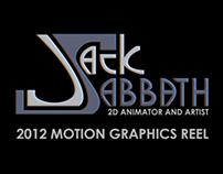 Motion Graphics Reel 2012