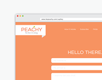 Peachy Website