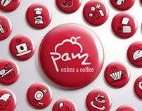 PAM Cakes & Coffee (Branding)